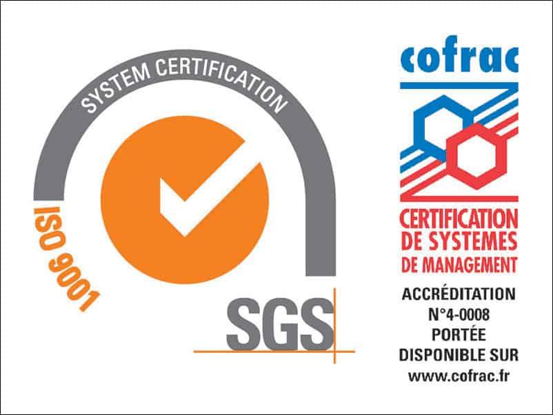 Green Services est certifié ISO 9001/2015