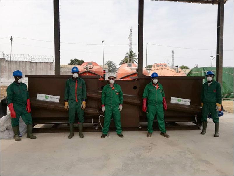 Reprise des opérations de compostage à la base industrielle ENI