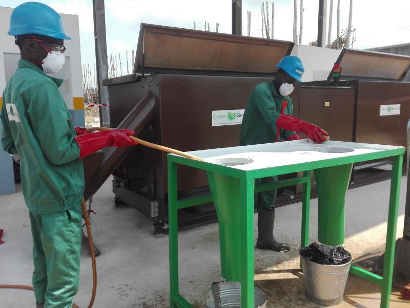 Fonctionnement du compostage à la BI ENI