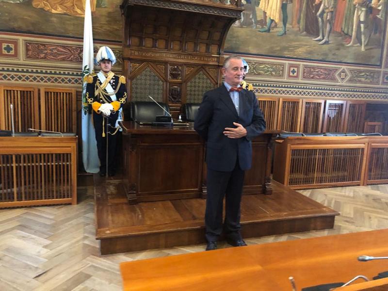 Marcello della Corte nommé consul honoraire de la République de Saint-Marin au Congo