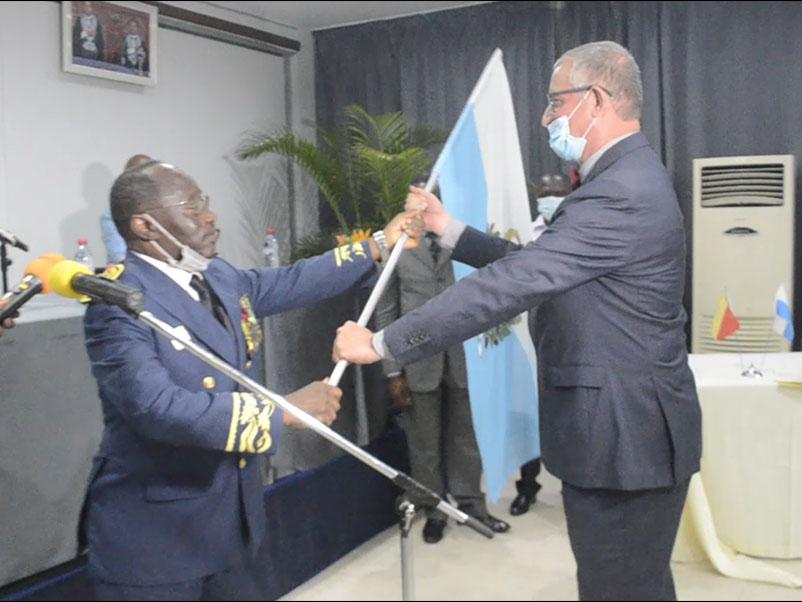 Cérémonie exéquatur du Consul Honoraire de la République de Saint-Marin en République du Congo