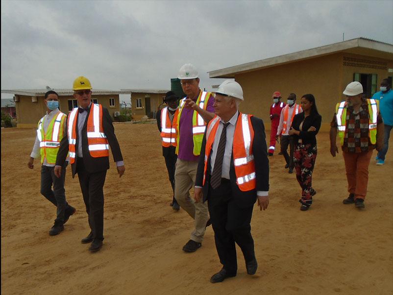 Environnement : L'Ambassadeur de l'Union Européenne et le Consul honoraire de la République de Saint Marin en République du Congo, visitent le Biocentre Marino RAIMONDI